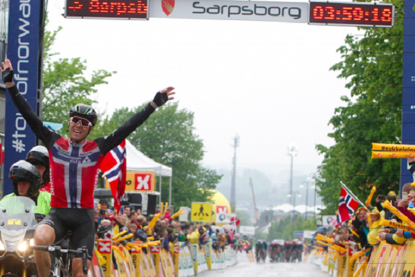 Anche l'ultima tappa del Tour of Norway va a Edvald Boasson Hagen © Tour of Norway