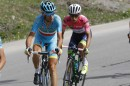 Vincenzo Nibali ed Esteban Chaves © Bettiniphoto