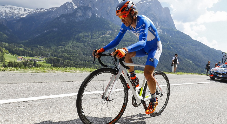 Damiano Cunego comanda la classifica degli scalatori @ Bettiniphoto
