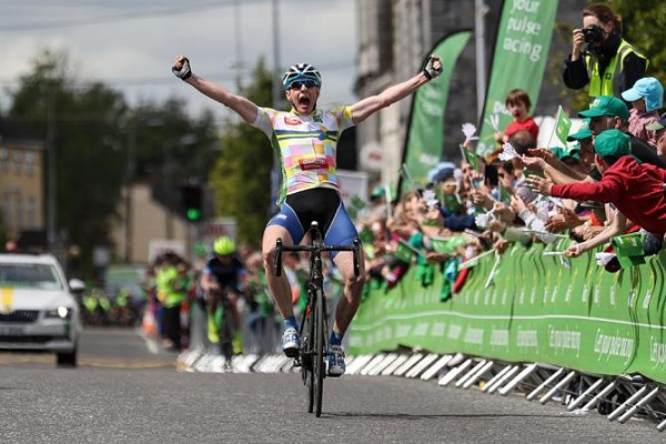 La gioia di Eoin Morton all'An Post Rás © Inpho Photography