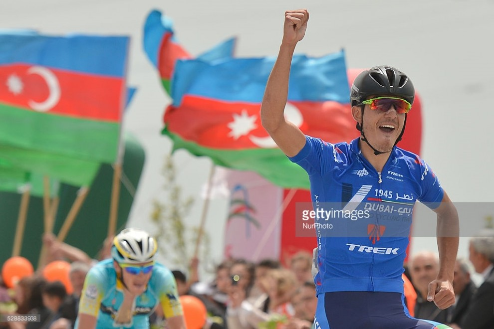 Luca Wackermann (Nasr Dubai) vince la quarta tappa del Tour d'Azerbaïdjan 2016 © Getty Images