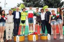 Il podio a Solbiate Arno © federciclismo.it