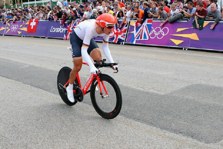 Tony Martin impegnato a Londra 2012 © Alex Livesey - Getty Images Sport