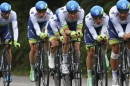 La Orica GreenEDGE al Tour de France 2015 © AP