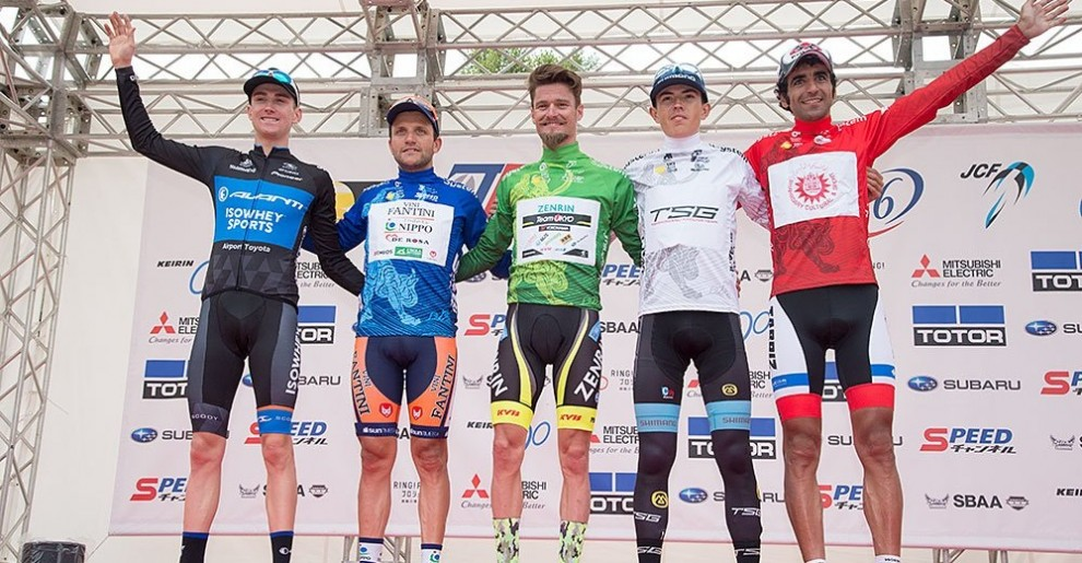 Le maglie del Tour of Japan © Tour of Japan