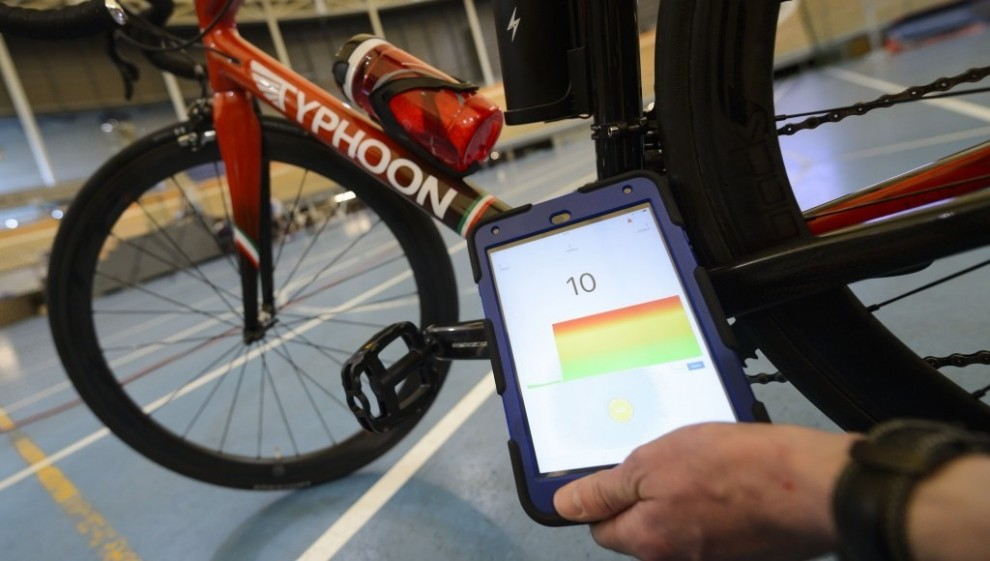 Uno dei tablet magnetici usati dall'UCI © Getty Images