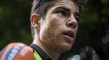 Wout Van Aert prolunga il contratto © Wouter Roosenboom