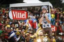 Romain Bardet all'arrivo di Saint Gervais © ASO