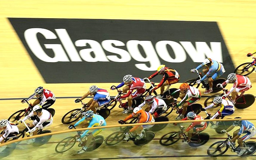 Il Velodromo Sir Chris Hoy di Glasgow ha già ospitato in passato la Coppa del Mondo @ Telegraph.co.uk / PA