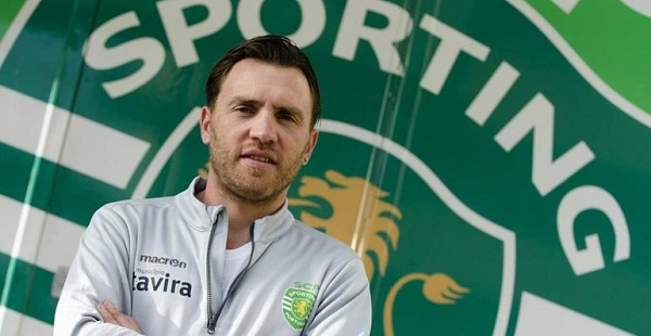 Nocentini nella sede dello Sporting © supersporting.net