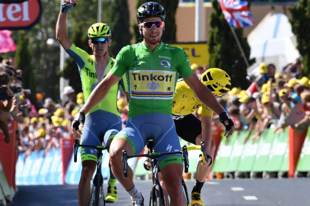 La vittoria di Peter Sagan (Tinkoff) a Montpellier @ Bettiniphoto