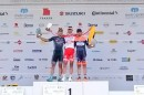 Il podio dell'ultima tappa © Sibiu Cycling Tour