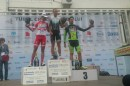 Il podio della prima tappa in linea del Sibiu Cycling Tour © Sibiu Cycling Tour