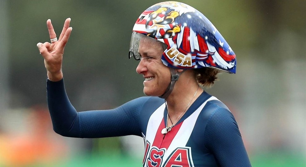 Terzo oro olimpico per Kristin Armstrong © Getty Images