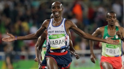 Mo Farah, simbolo di una Gran Bretagna pigliatutto © AP Photo - David J. Phillip
