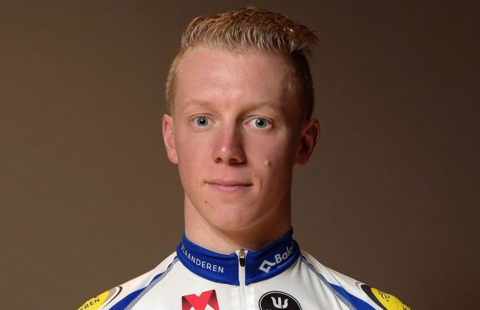 Floris De Tier sbarca nel World Tour con il Team LottoNl-Jumbo © Twitter