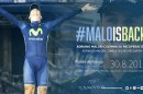 Malo is back! © Movistar Team