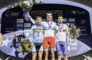 Il podio del Campionato Europeo under 23 © UEC