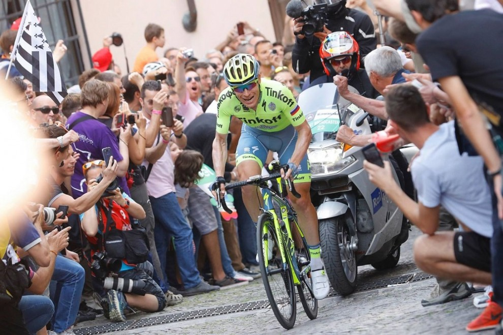 Pavel Brutt impegnato al Giro d'Italia © Bettiniphoto