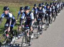 Il Team Colpack in allenamento © Team Colpack