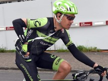 Tom Danielson in maglia Cannondale © Sky Sports