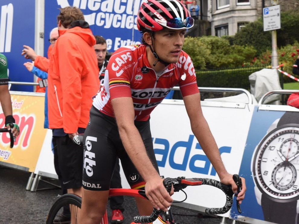 James Shaw passa professionista con la Lotto Soudal © Lotto Soudal