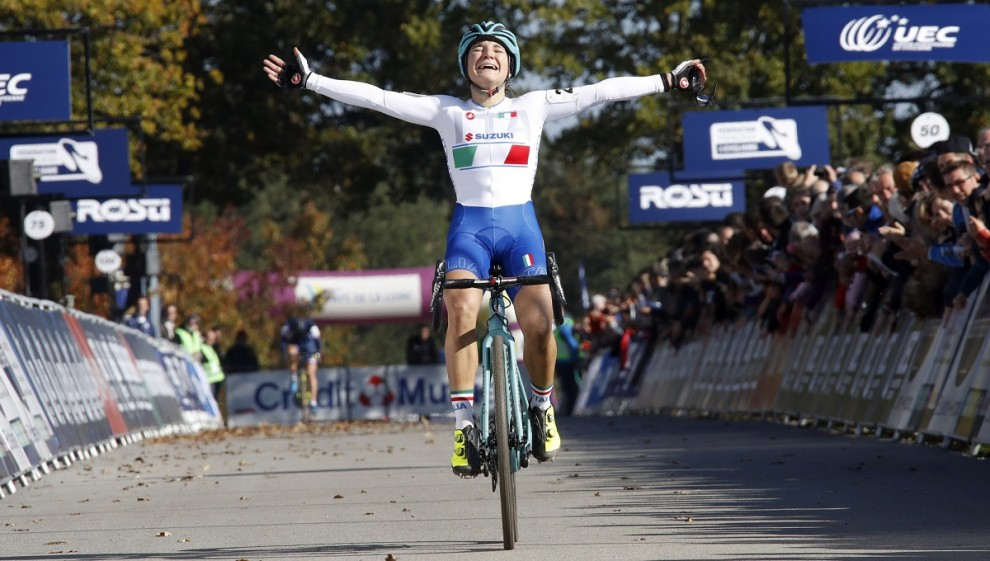 Chiara Teocchi è la nuova campionessa europea under 23 di ciclocross © Bettiniphoto
