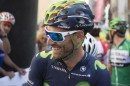 Un sorridente Alejandro Valverde © Movistar Team