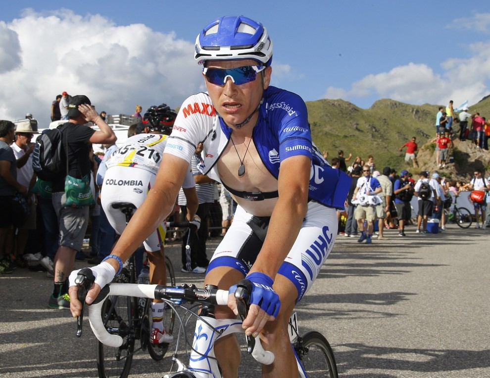 Janez Brajkovic impegnato al Tour de San Luis © Bettiniphoto