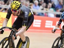 Ed Clancy in azione a Manchester © Revolution Champions League