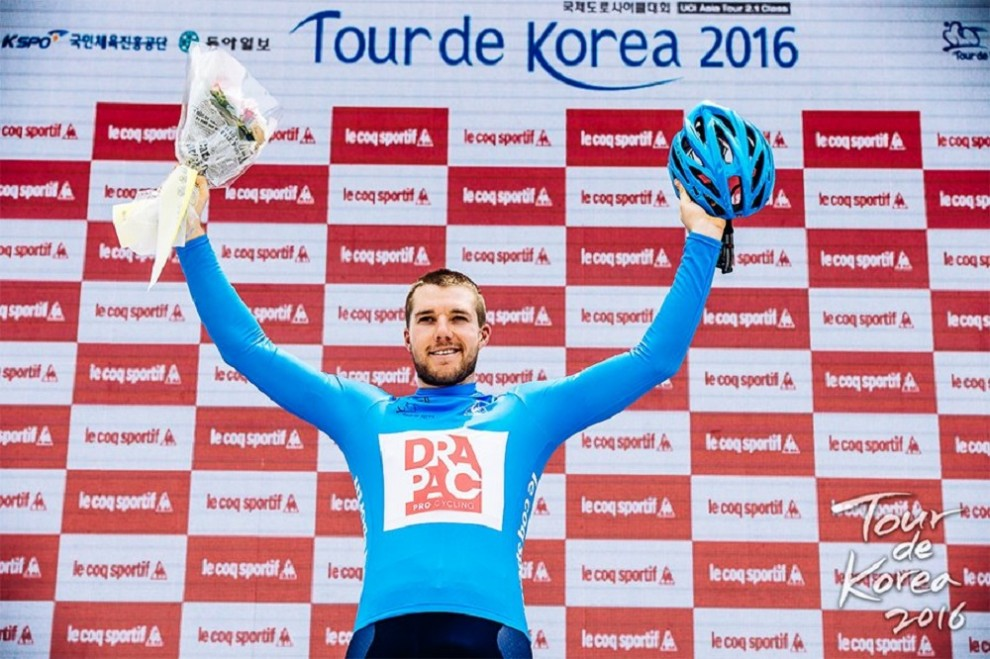 Brenton Jones al Tour de Korea © Tour de Korea