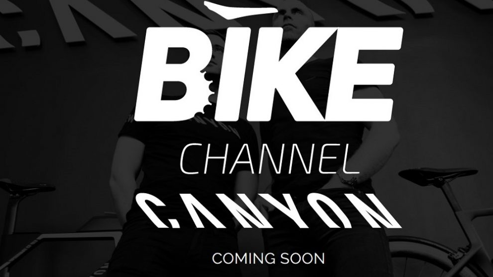 Il logo nel BIKE Channel Canyon Team
