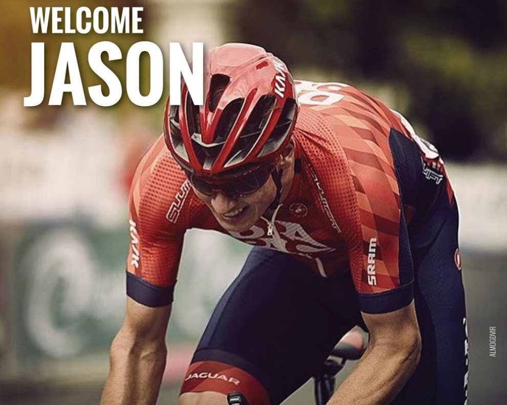 Jason Lowndes in maglia Drapac © Cycling Academy