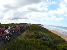 I corridori impegnati alla Cadel Evans Great Ocean Road Race © Cadel Evans Great Ocean Road Race