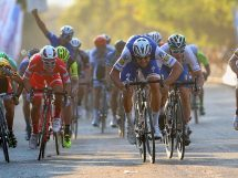 Boonen batte Viviani nella seconda tappa © Bettiniphoto