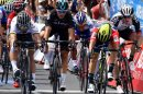 Ewan al colpo di reni su Sagan © Tour Down Under