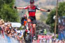 Richie Porte primo a Paracombe, seconda tappa del Tour Down Under © BMC Racing Team