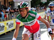 Filippo Simeoni impegnato al Giro del Lazio 2008 © Photo Ianuale