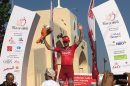Alexander Kristoff premiato sul podio al Tour of Oman © Tour of Oman