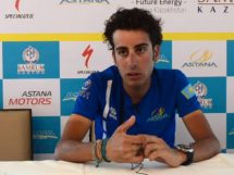 Fabio Aru in una conferenza stampa © Youtube
