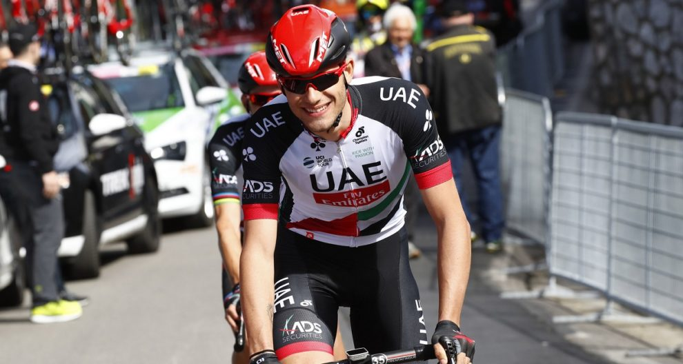 Filippo Ganna in maglia UAE Team Emirates © Bettiniphoto