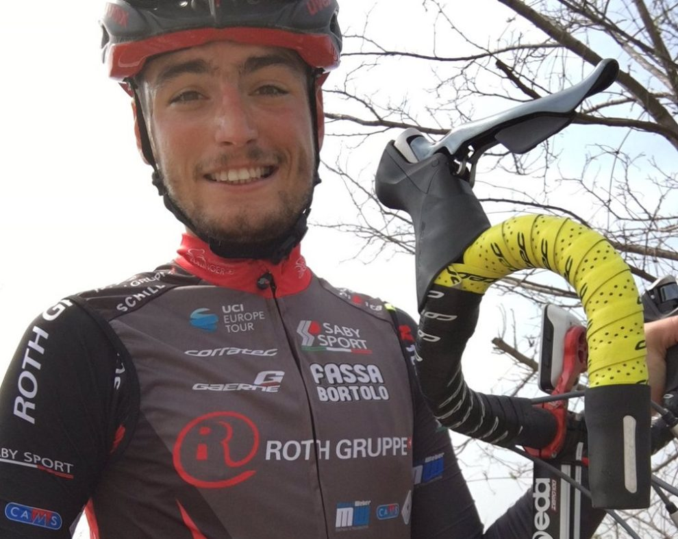 Nicola Toffali in maglia Team Roth © Twitter