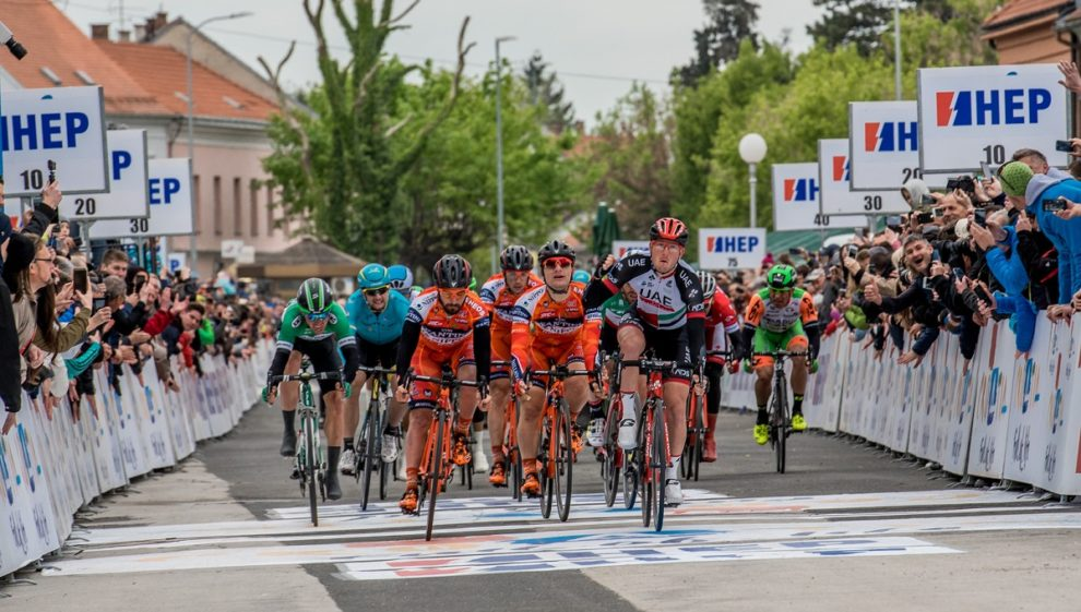 Sacha Modolo vince la prima tappa del Tour of Croatia 2017 © Bettiniphoto