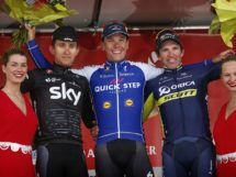 Il podio dell'Amstel Gold Race 2017 © Bettiniphoto