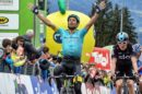Michele Scarponi vince la 1a tappa del Tour of the Alps © Twitter