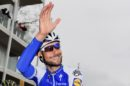 Tom Boonen saluta alla Scheldeprijs 2017 © Bettiniphoto