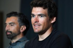 Greg Van Avermaet in conferenza stampa © Tim De Waele