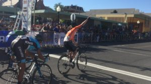 Una diversa visuale del trionfo di Eric Young al Tour of the Gila © Twitter