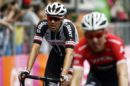 Tom Dumoulin con Bauke Mollema all'arrivo di Asiago © Bettiniphoto
