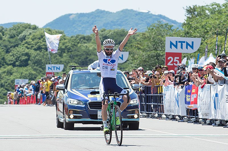 Marcos Garcia vittorioso a Izu © Tour of Japan